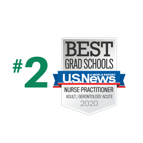 Ranked #2 in Adult/Gero Acute Care NP by US News and World Report