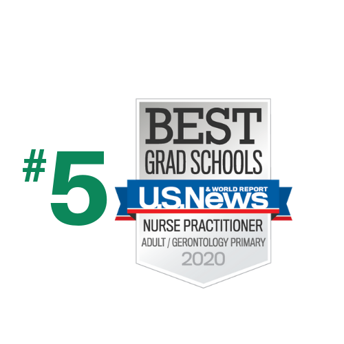 Adult/Gerontology Nurse Practitioner Ranked #5 in the nation by US News and World Report