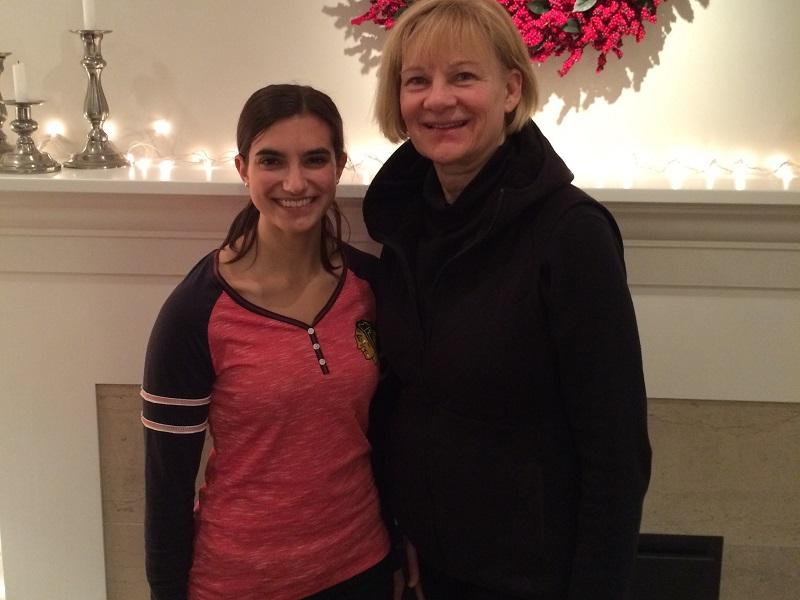 Megan Konopka and Dr. Elaine Vale HOST Program