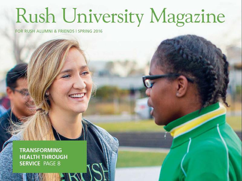 Rush University Magazine Spring 2016