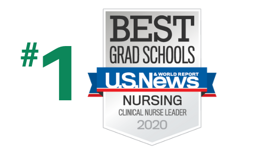 Ranked #1 in Clinical Nurse Leader by US News and World Report