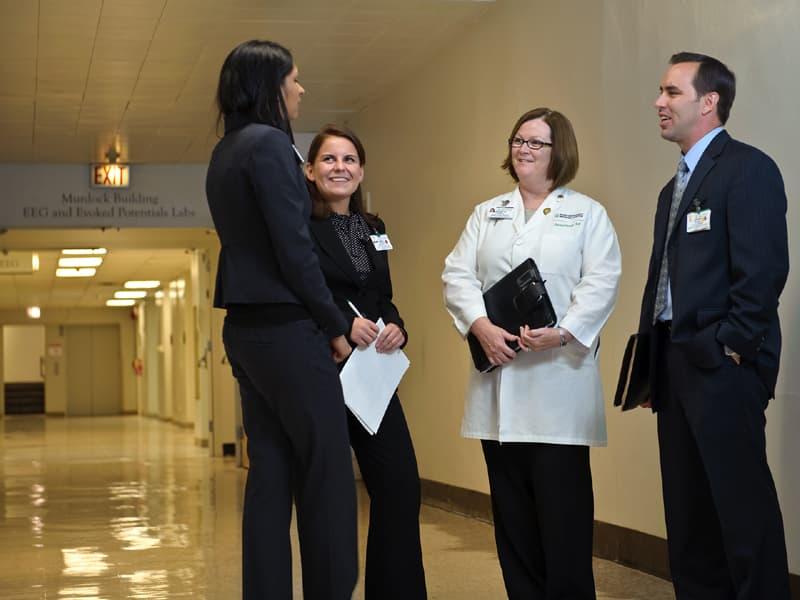 Members of the PhD in Health Sciences program at Rush University