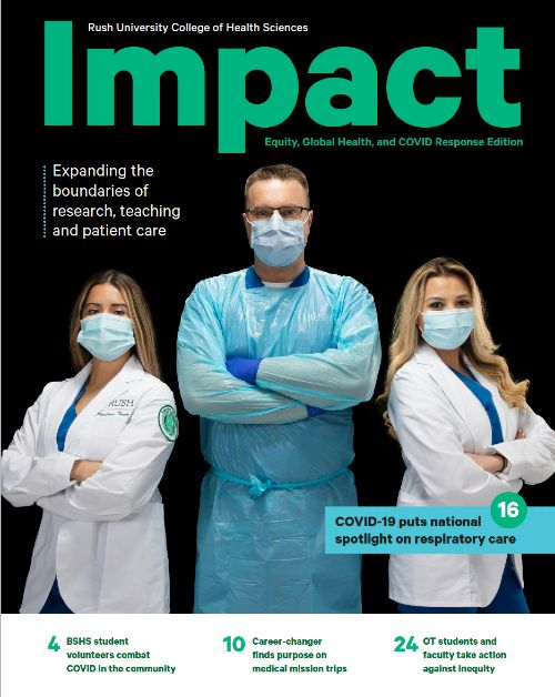 CHS Impact magazine cover, 2021