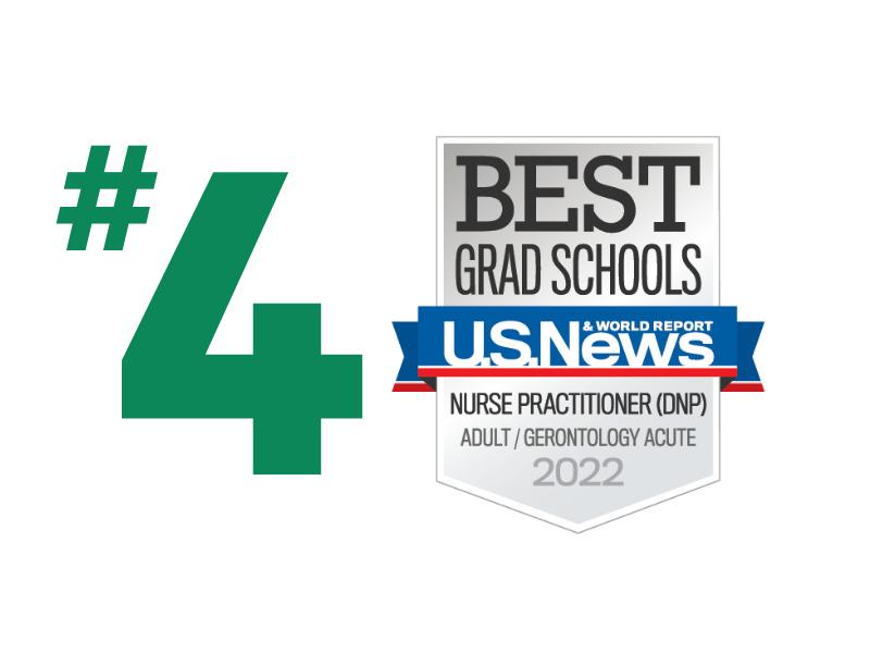 U.S. News - Best Grad Schools - Adult/Gerontology Acute - 2022
