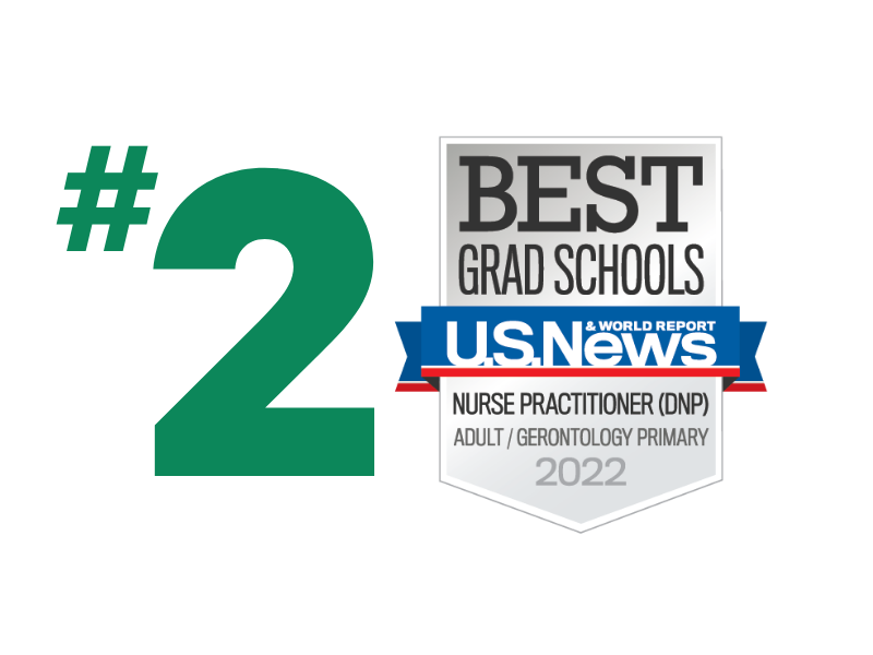 U.S. News - Best Grad Schools - Adult/Gerontology Primary - 2022