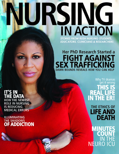 Cover of the Nursing in Action Magazine