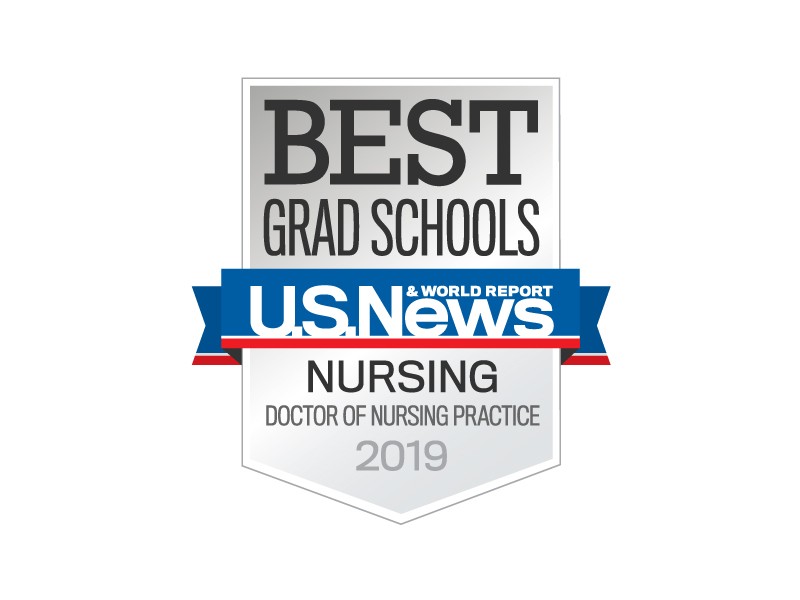 Best ranked DNP nursing school badge
