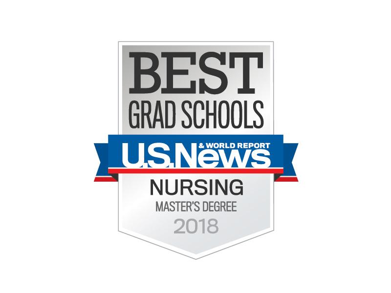 2018 Nursing Master's Degree Best Grad School Award by U.S. News
