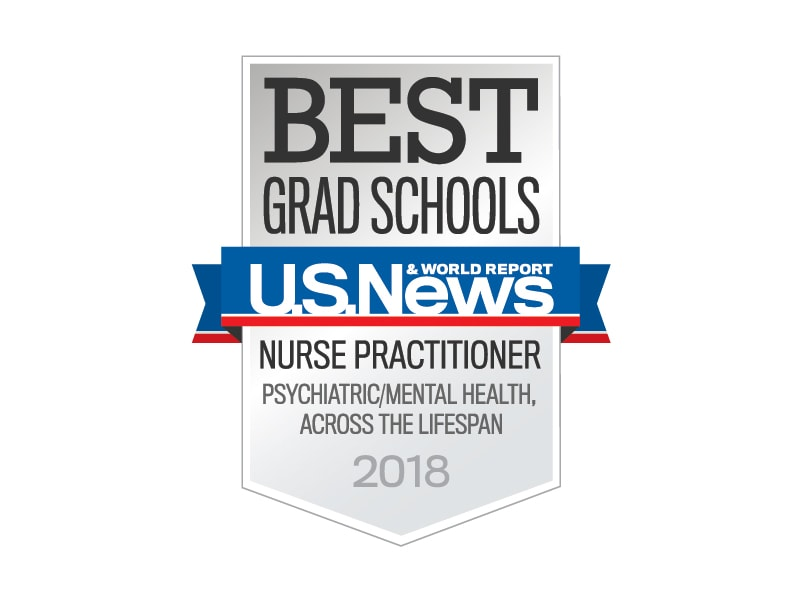 Best Grad Schools by U.S. News & World Report - 2017 Nurse Practitioner: Psychiatric/Mental Health, Across the Lifespan
