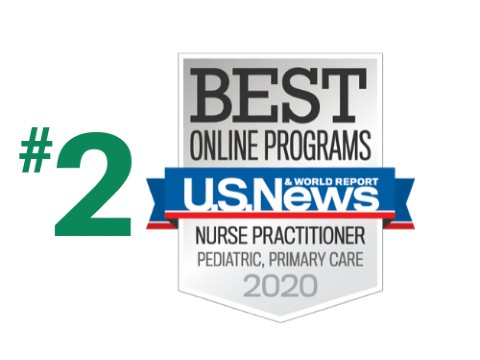 U.S. News - Best Online Programs - NP Pediatric Primary Care - 2021