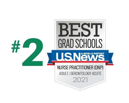 U.S. News - Best Grad Schools - Adult/Gerontology Acute - 2021