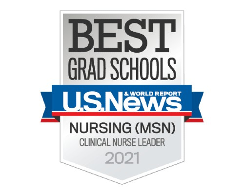 U.S. News - Best Grad Schools - Clinical Nurse Leader MSN - 2021