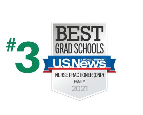 U.S. News - Best Grad Schools - Family Nurse Practitioner - 2021