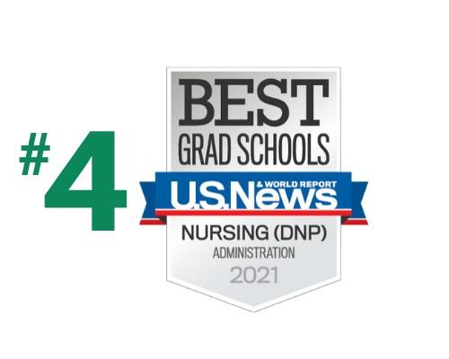 U.S. News - Best Grad Schools - DNP Nursing Administration - 2021
