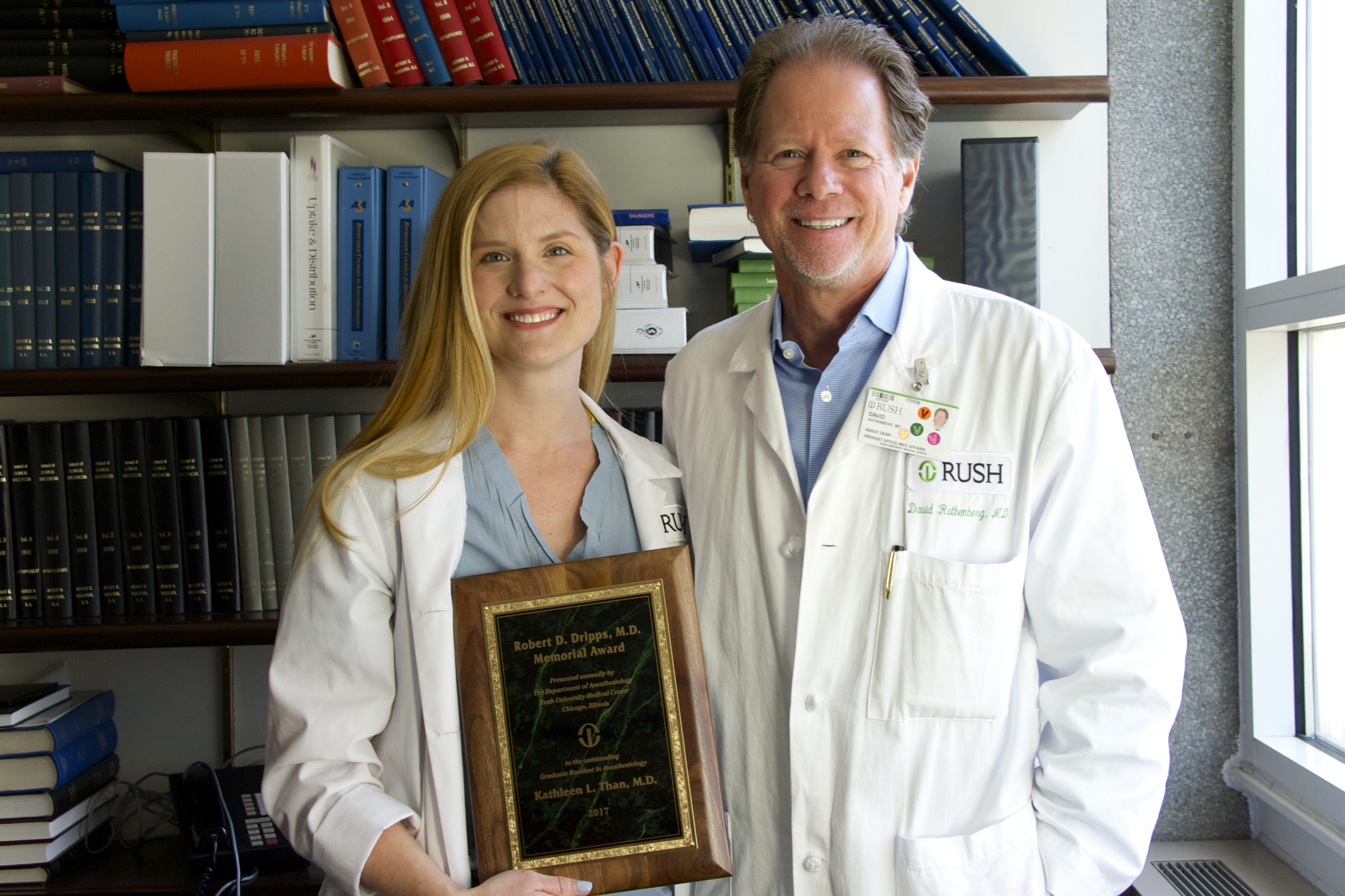 Kathleen L. Than, M.D. wins Robert D. Dripps, M.D. memorial award