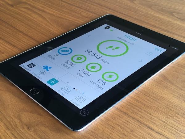 iPad Fitbit