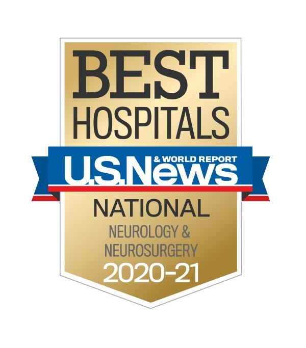 U.S. News Best Hospitals 2020-2021 - Neurology and Neurosurgery