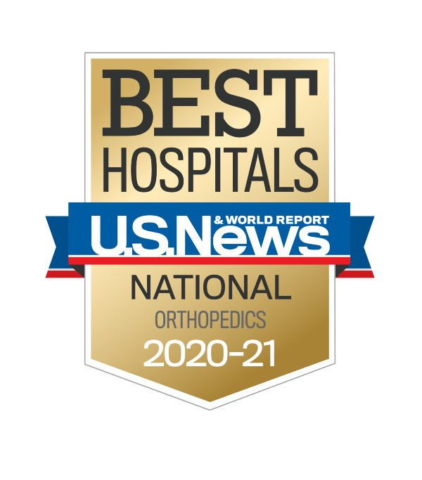 U.S. News Best Hospitals 2020-2021 - Orthopedics