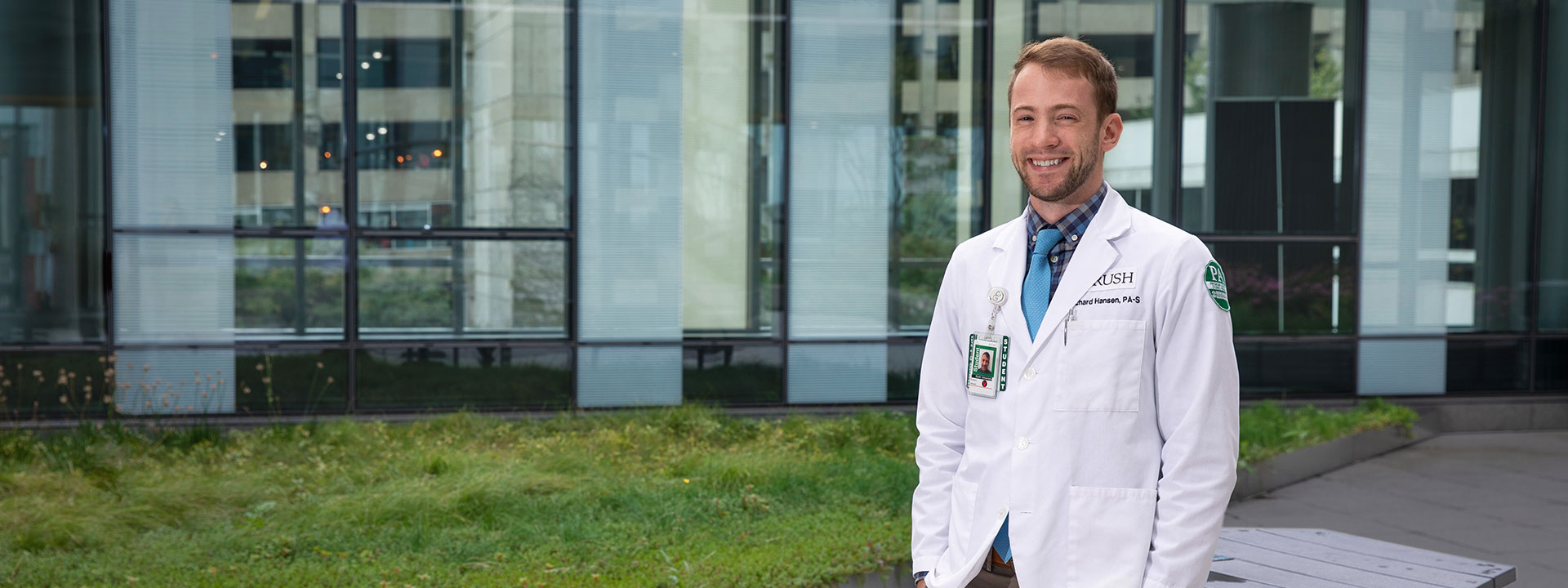 Physician assistant student Richard Hansen, College of Health Sciences