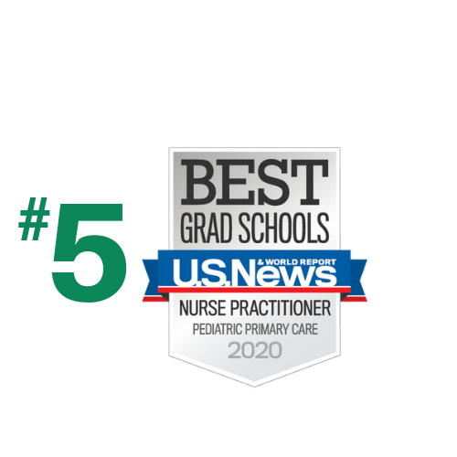 Ranked #5 in Pediatric NP by US News and World Report