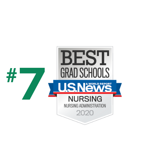Ranked #7 in Nursing Administration by US News and World Report