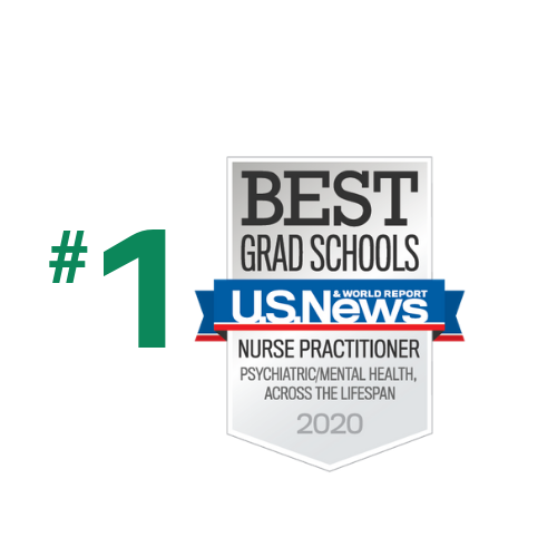 Ranked #1 in Psychiatric/Mental Health Nursing by US News and World Report