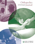 Rush Orthopedics Journal - 2016
