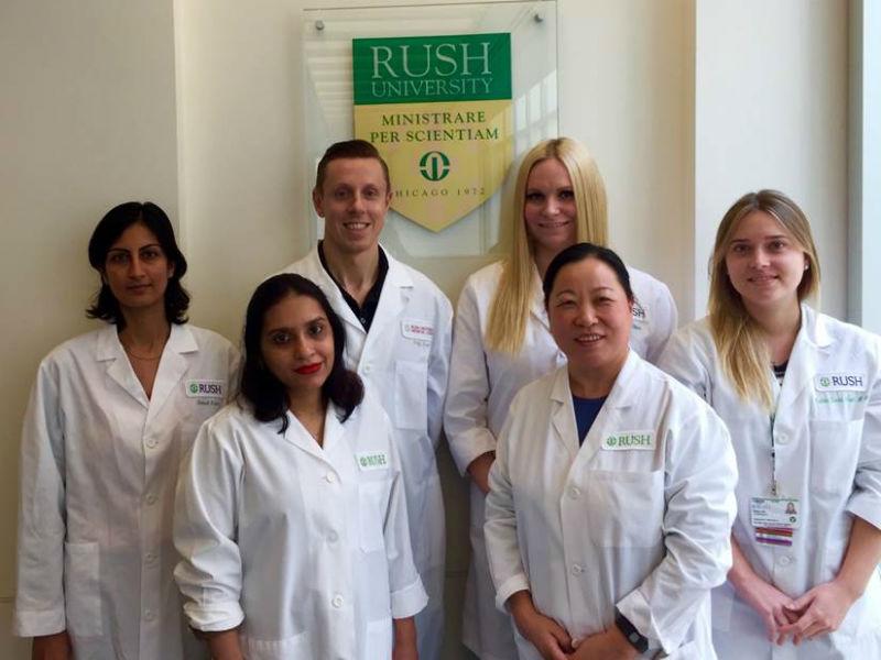 Gastrointestinal research lab staff