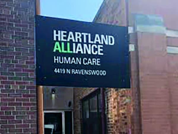 Heartland Alliance sign