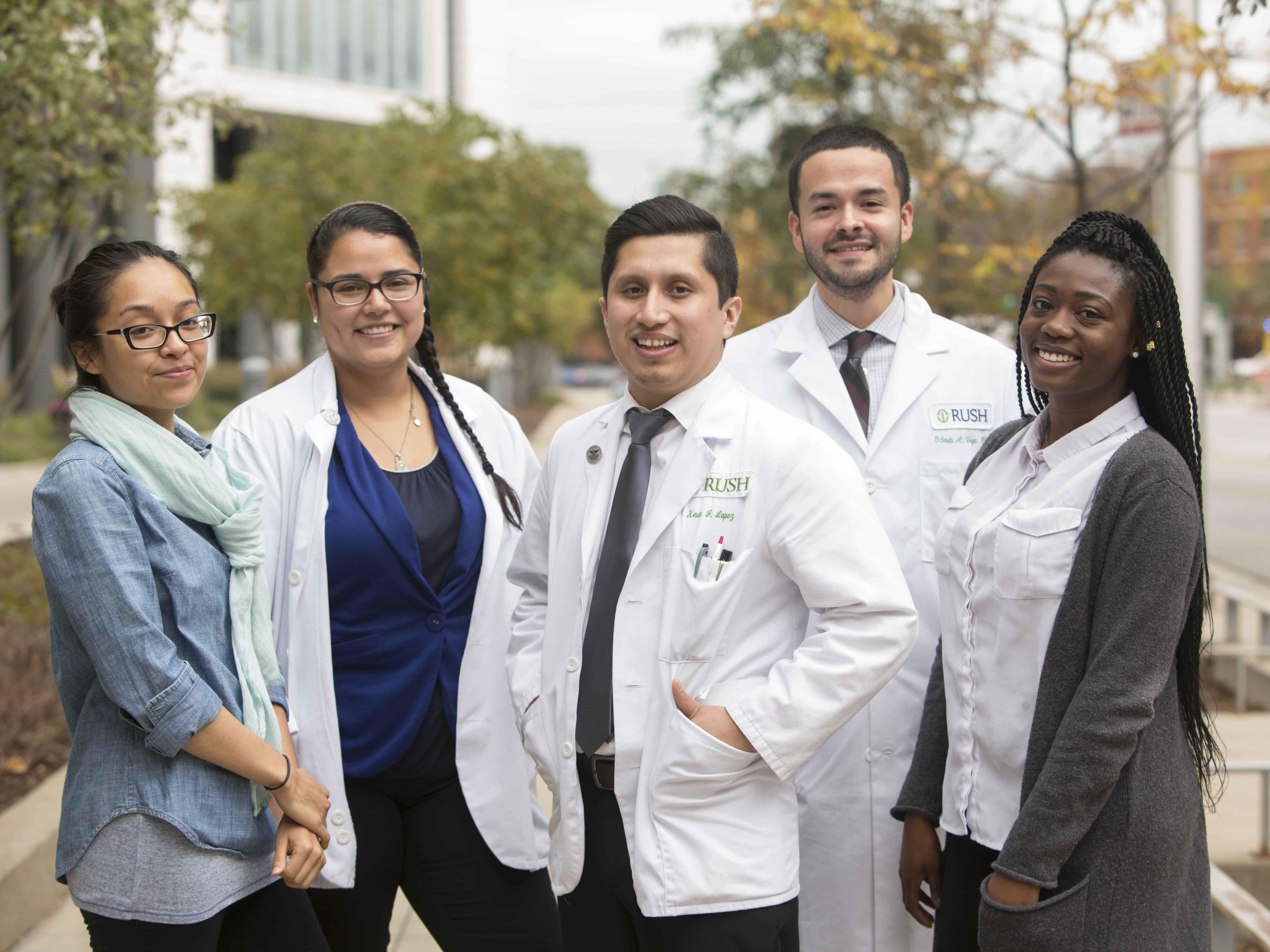 LMSA and SNMA medical students
