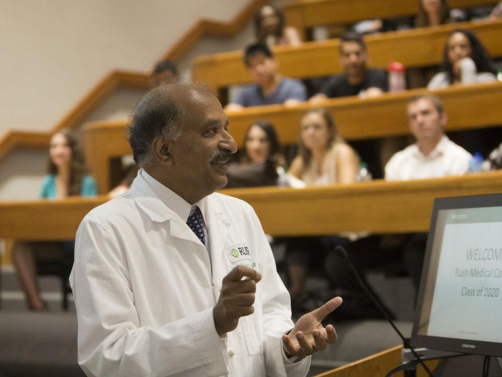 Rush Medical College Dean Ranga Krishnan
