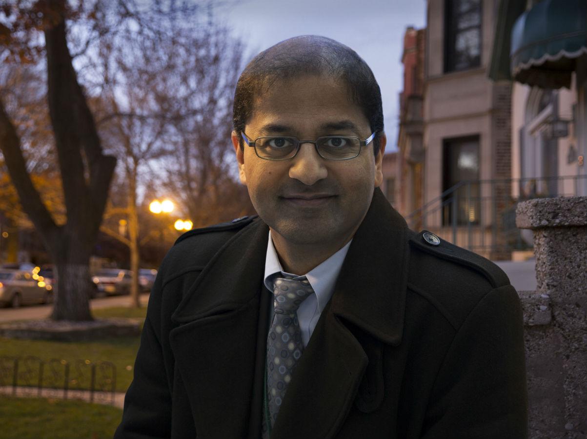Rush researcher Raj Shah