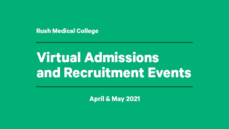 Virtual Admissions and Recruitment Events