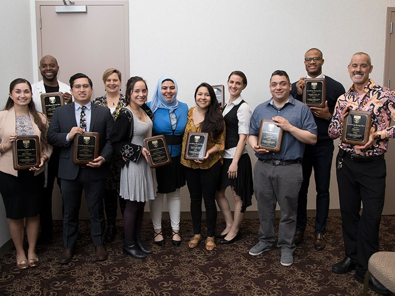 Diversity and Inclusion award winners