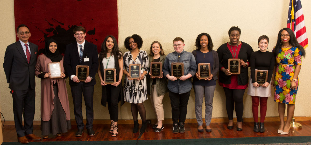 2017 Diversity and Multicultural Leadership Awards Winners