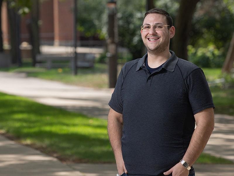Ronen Ostro, Rush Graduate College student