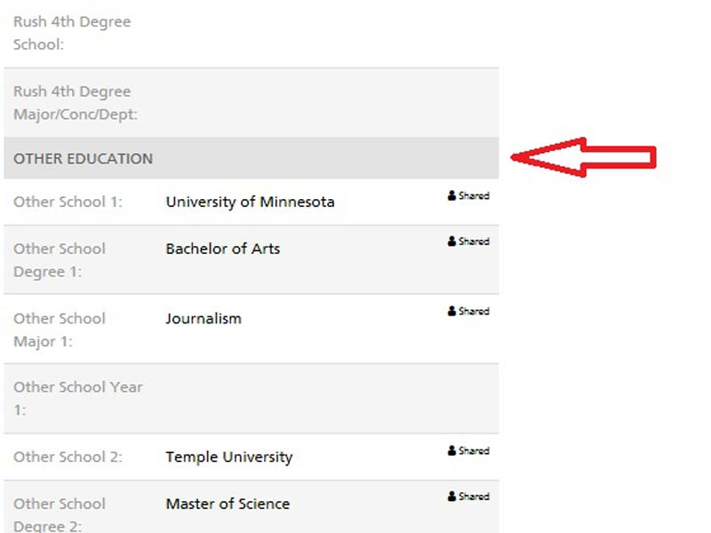 Alumni Directory Other Degree