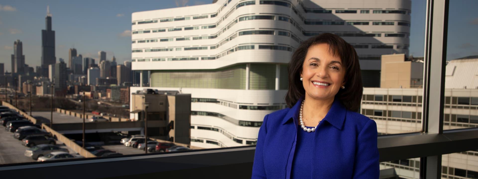 Sherine Gabriel, Rush University President