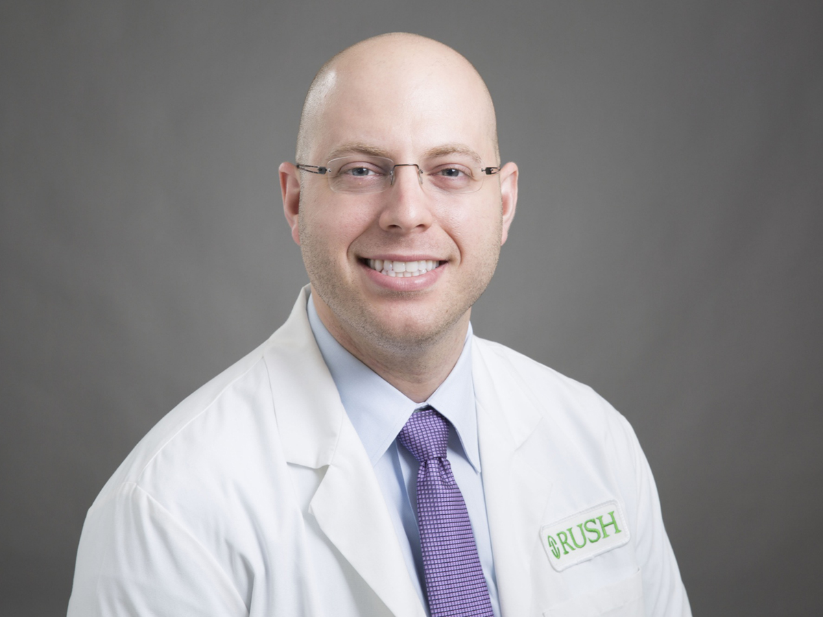 faculty page rush university michael gottlieb md rdms